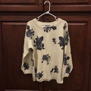 Oversized sweater size S
